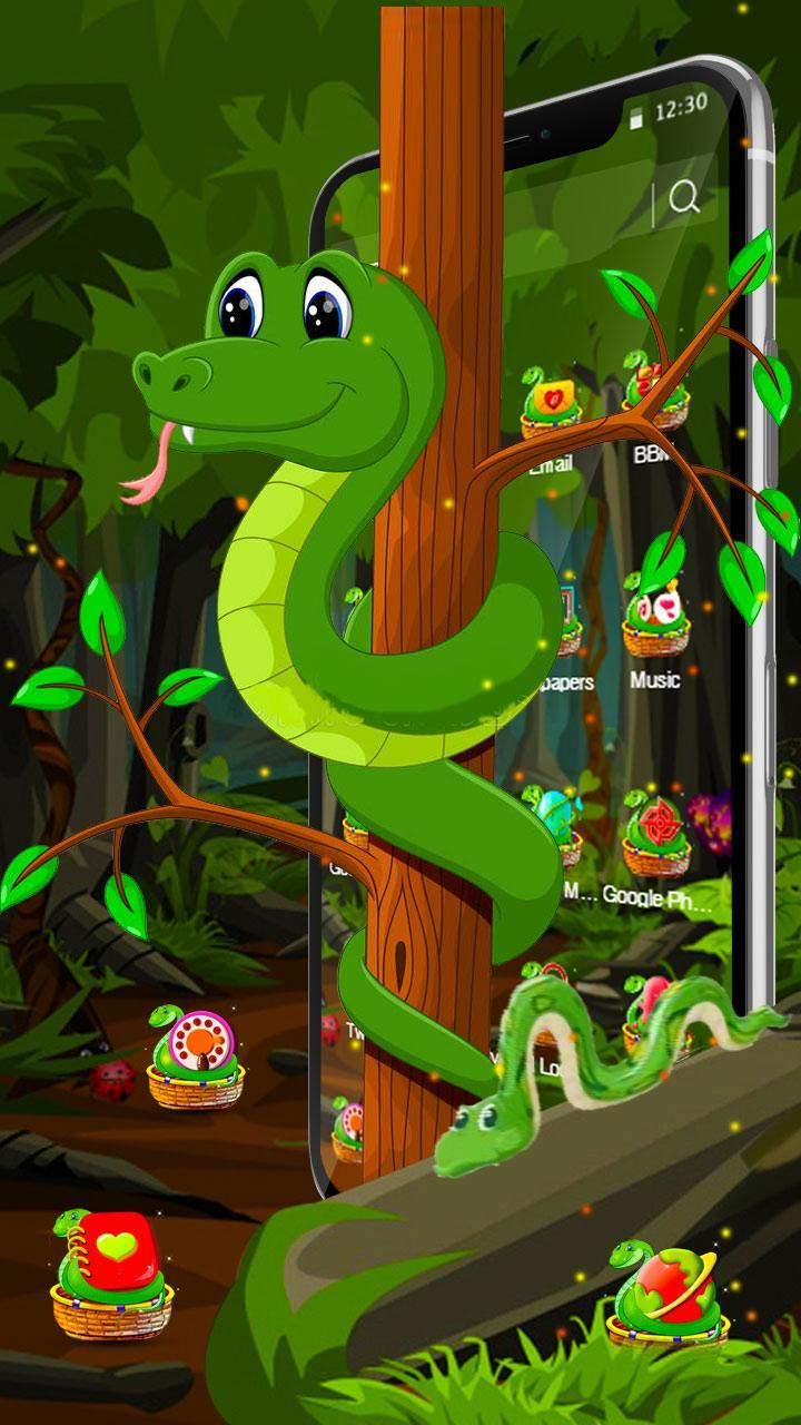 3D Hungry snake theme for Android - APK Download