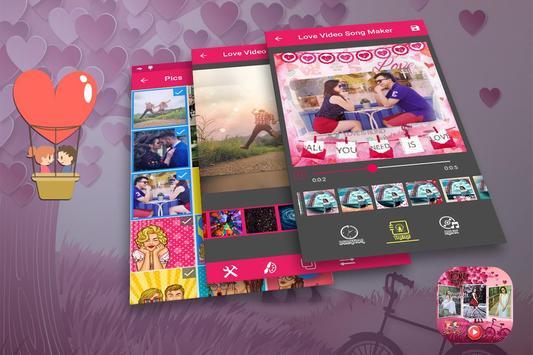 Love Video Song Maker poster