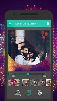 Diwali Photo to Video Maker with Music screenshot 4