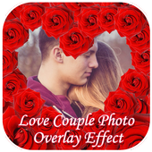Love Couple Photo Overlay icon