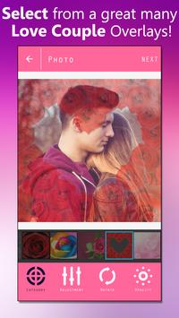 Love Couple Photo Overlay poster