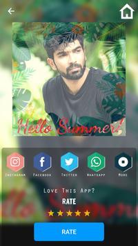 Summer Photo Overlay Effect apk screenshot