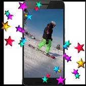 Snowboarding HD LWP icon
