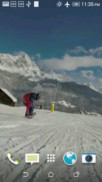Snowboarding HD LWP apk screenshot