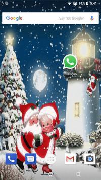 Christmas Rink Live Wallpaper 2017 screenshot 2