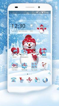 Happy Snowman Winter poster