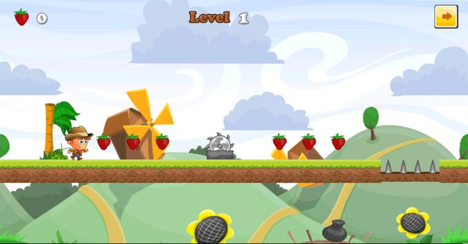 Strawberries Garden Run screenshot 2