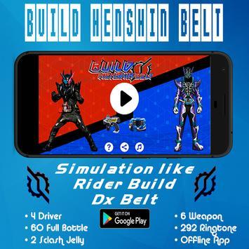 Build Henshin Belt poster