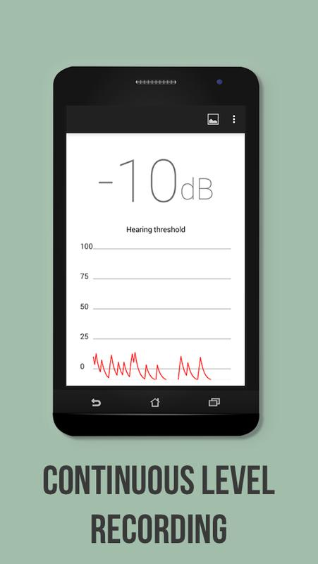 android phone sound level meter