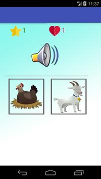 Animals learning game for kids screenshot 4
