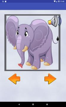 Animals learning game for kids screenshot 7