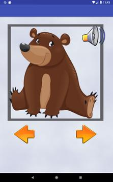 Animals learning game for kids screenshot 13
