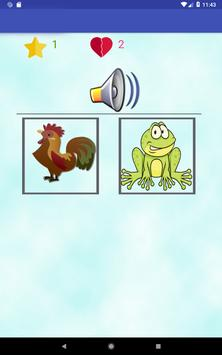 Animals learning game for kids screenshot 11