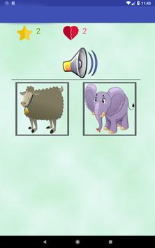 Animals learning game for kids screenshot 12
