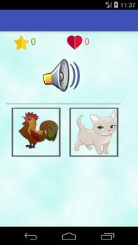 Animals learning game for kids screenshot 3