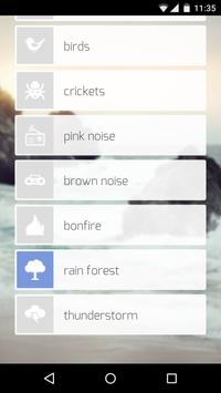 Sound App free - Nature Sounds apk screenshot
