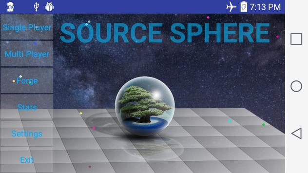 Source Sphere poster