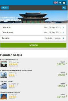Korea Hotel Discount poster