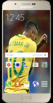 Neymar Wallpapers foot ball HD screenshot 4