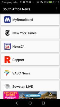 Newspapers South Africa screenshot 13