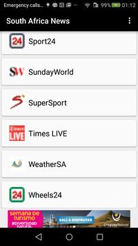 Newspapers South Africa screenshot 15