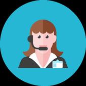 Translator Woman icon