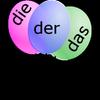 لعبة der die das icône