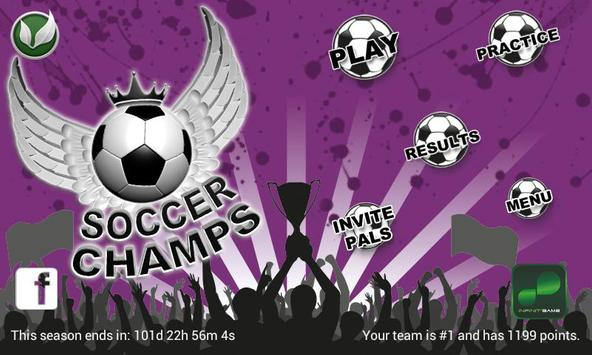 Soccer Champs poster
