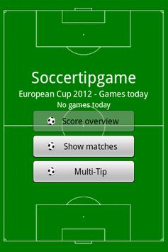 Soccer Tip Game apk screenshot