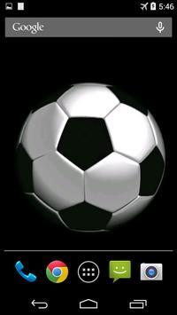 Soccer Ball Video Wallpaper poster