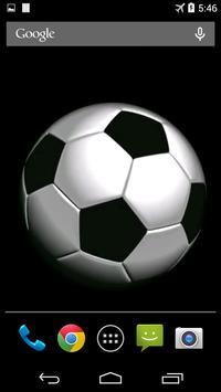 Soccer Ball Video Wallpaper screenshot 1