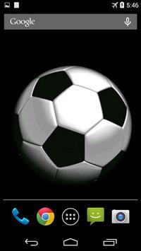 Soccer Ball Video Wallpaper screenshot 2