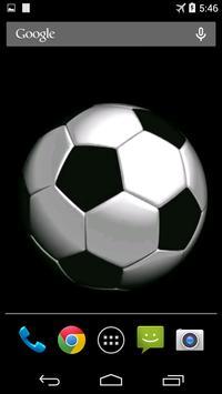 Soccer Ball Video Wallpaper screenshot 3