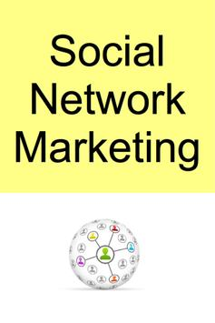 Social Network Marketing poster