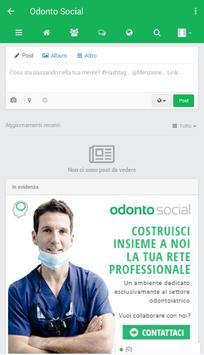 Odonto Social Network apk screenshot
