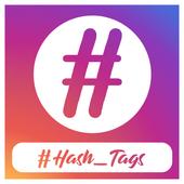 HashTags for Followers & Like : Hashtag for insta icon