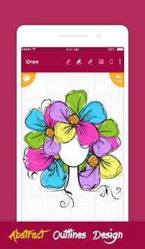 iDraw: paint & simple drawing app. ポスター