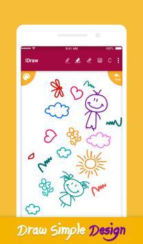 iDraw: paint & simple drawing app. スクリーンショット 1