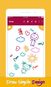 iDraw: paint & simple drawing app. screenshot 1