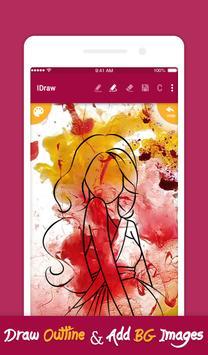 iDraw: paint & simple drawing app. screenshot 2