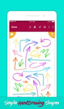 iDraw: paint & simple drawing app. スクリーンショット 3