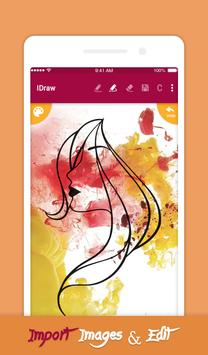 iDraw: paint & simple drawing app. screenshot 4