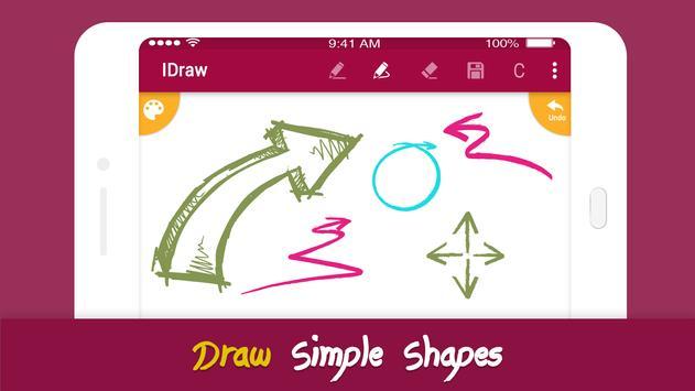 5 Schermata iDraw: paint & simple drawing app.