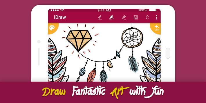 6 Schermata iDraw: paint & simple drawing app.