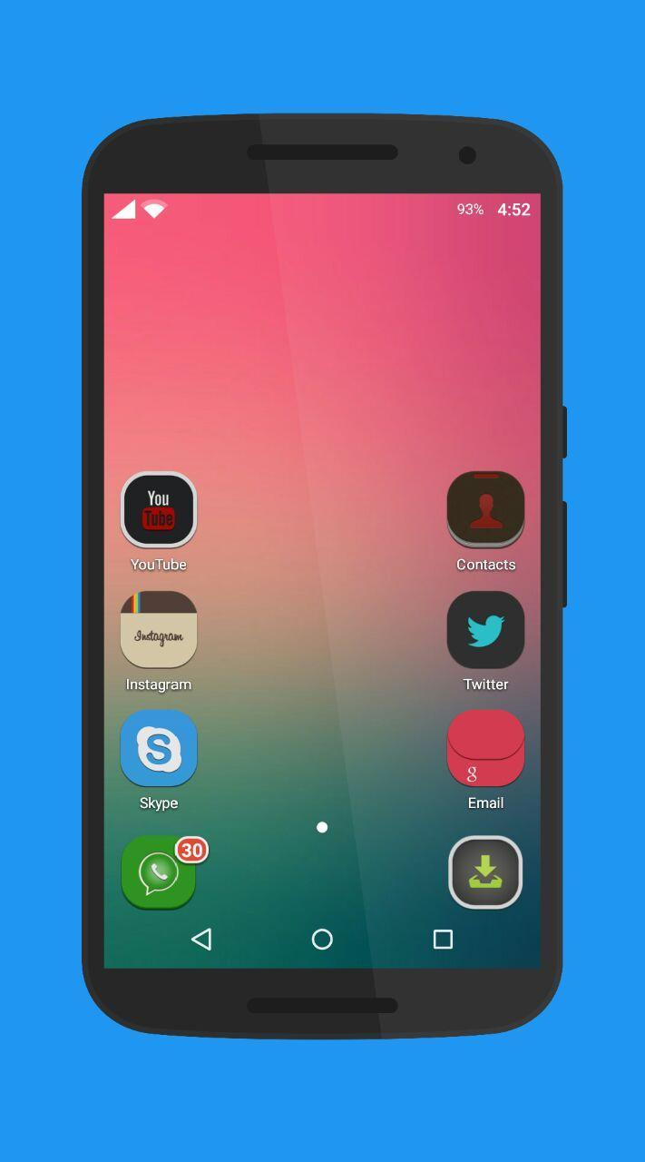 Flat Icon Pack for Android - APK Download