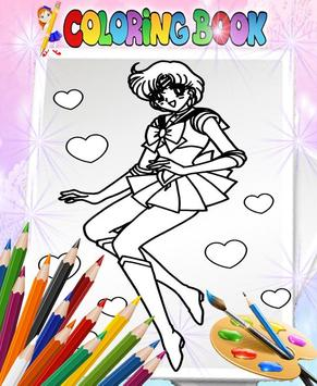 How To Color Sailor Moon - Coloring Book screenshot 2