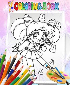 How To Color Sailor Moon - Coloring Book screenshot 4