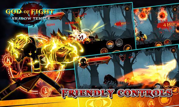 Shadow temple - God of fight screenshot 3