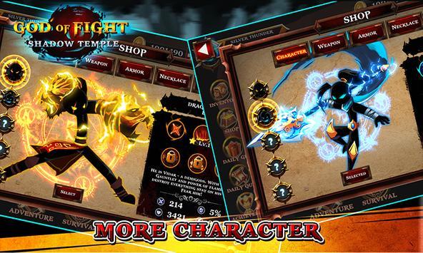 Shadow temple - God of fight screenshot 1