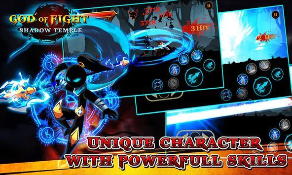Shadow temple - God of fight screenshot 4
